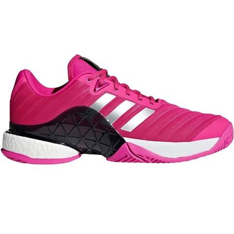 Adidas Barricade Boost Men's Tennis Shoe Pink/black