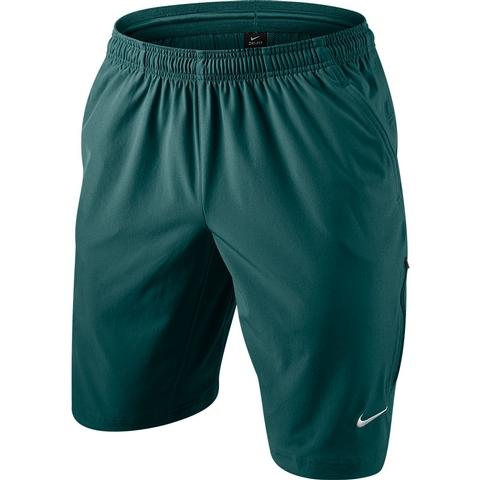 c99663fa8fb53 Nike N.E.T. 11 Woven Men s Tennis Short Rainforest white