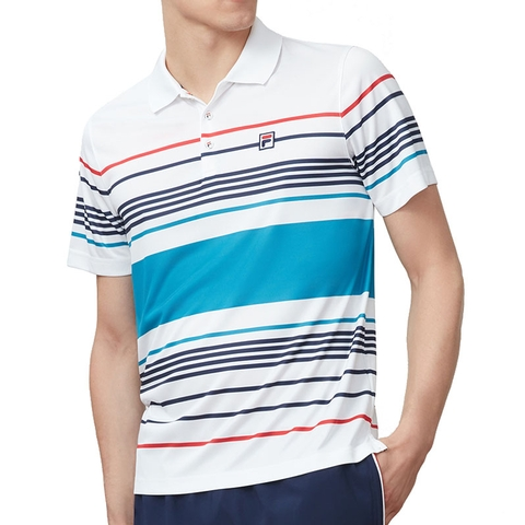 c71667e6 Fila Heritage Striped Men's Tennis Polo. FILA - Item #TM183W56101