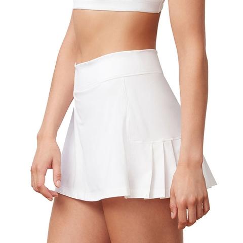 cea43abfb Fila Windowpane Pleated Back Women's Tennis Skirt. FILA - Item #TW183X94100