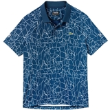 Lacoste ND Ultra Dry Net Print Men's Tennis Polo