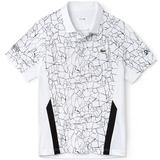 Lacoste ND Ultra Dry W/ Net Print Colorblock Men's Tennis Polo