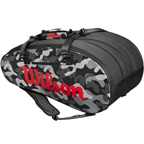 Wilson Camo 15 Pack Tennis Bag Camo