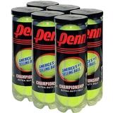 Penn Championship Extra Duty 6 Can Pack Tennis Balls