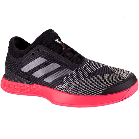 Adidas Adizero Ubersonic 3 Men s Tennis Shoe Black red c44b4965d