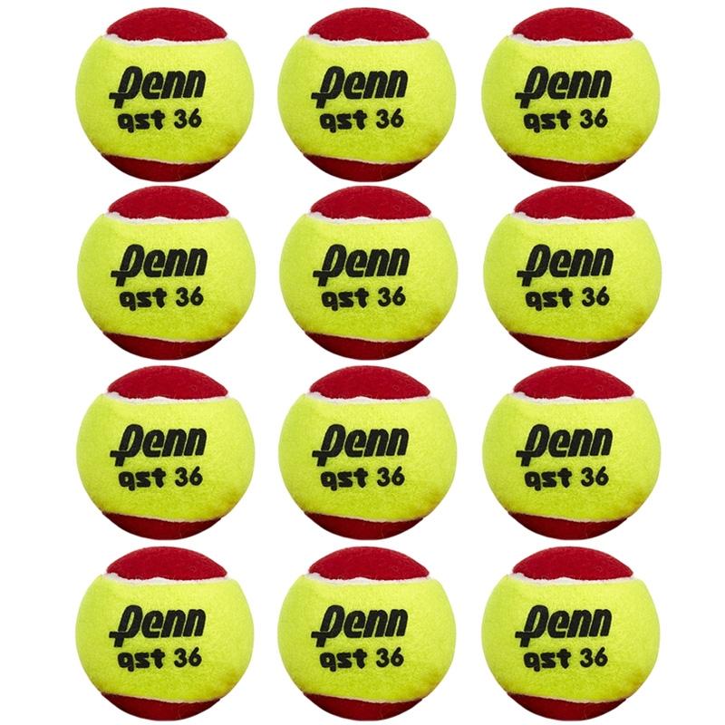 Penn QST 36 Low Compression 12 Pack Tennis Balls