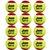Penn Qst 36 Low Compression 12 Pack Tennis Balls