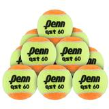Penn Qst 60 Low Compression 12 Pack Tennis Balls