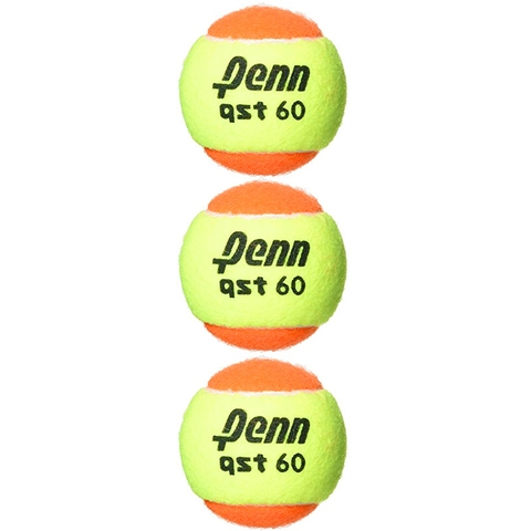 Penn Qst 60 Low Compression Balls 3 Pack