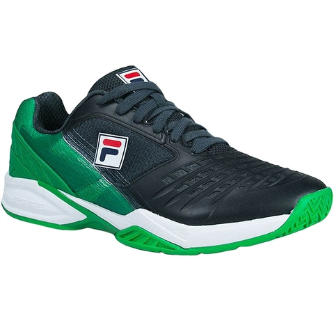 Fila Axilus Energized Limited Edition Men S Tennis Shoe Green Grey