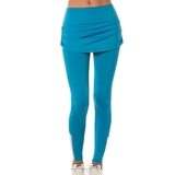 269afa13421 Lucky In Love Ruched Womens Tennis Skirt Legging