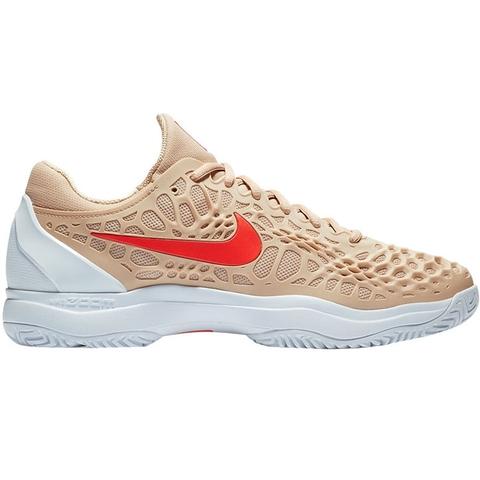 c4f90b4d4e85 Nike Zoom Cage 3 Men s Tennis Shoe Beige crimson