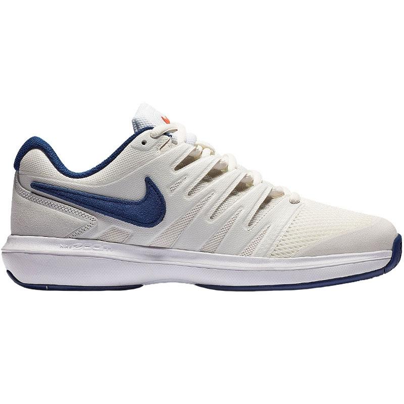 9a0f9ad117a8 Nike Air Zoom Prestige Men s Tennis Shoe White blue