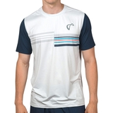 Athletic Dna Mesh Back Stripes Men's Tennis Crew