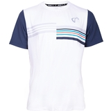 Athletic Dna Mesh Back Stripes Boy's Tennis Crew