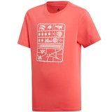 Adidas Graphics Boy's Tennis Tee