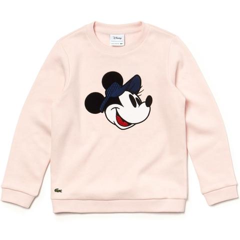 9bde5a788 Lacoste Disney Print Girl s Tennis Sweatshirt Flamingo