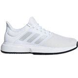 a0df40a4ec0f Adidas GameCourt Men s Tennis Shoe White silver