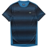 Lacoste Ultra Dry Sublimated Print Men's Tennis Crew