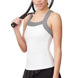 Fila Stripe Trim Women's Tennis Tank