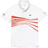 Lacoste Novak Ultra Dry Center Geo Print Men's Tennis Polo