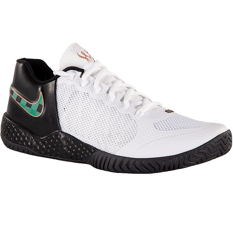 Bigote llegada Gorrión  Nike Flare 2 HC QS Women's Tennis Shoe Black/white