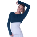 Bloquv Crop Top Women's Top