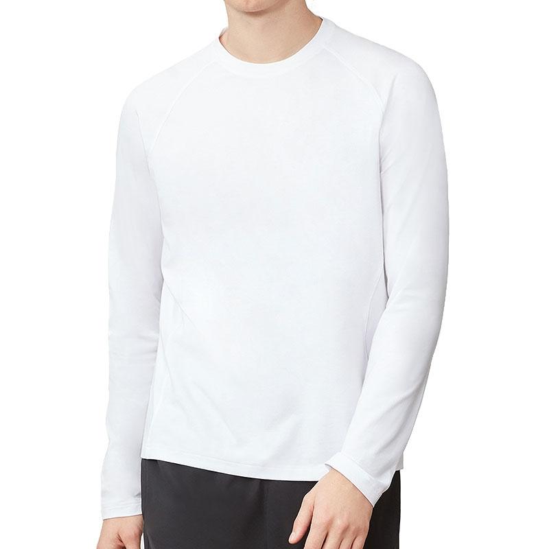 34c62decfa Fila UV Blocker Long Sleeve Men's Tennis Shirt White