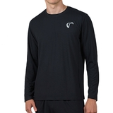 Athletic Dna Ventilator Long Sleeve Men's Tennis Top