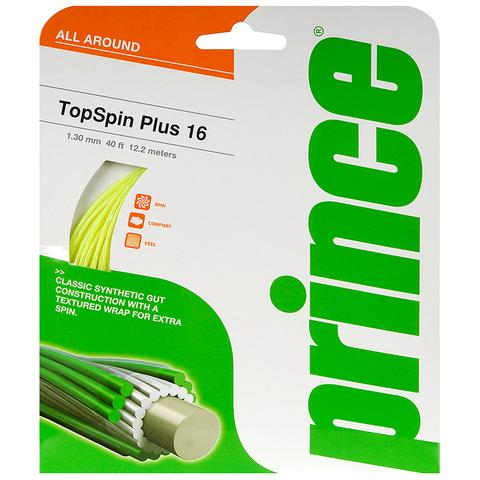 Prince Topspin Plus 16 Tennis String Set Optic Yellow