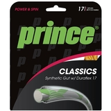 Prince Syn Gut Duraflex 17 Tennis String Set Gold