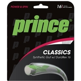 Prince Synthetic Gut Duraflex 16 Tennis String Set - White
