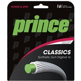 Prince Syn Gut Original 16 Tennis String Set White