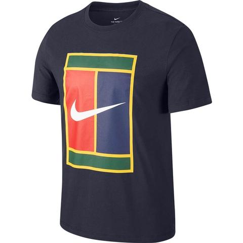 nike tee heritage logo