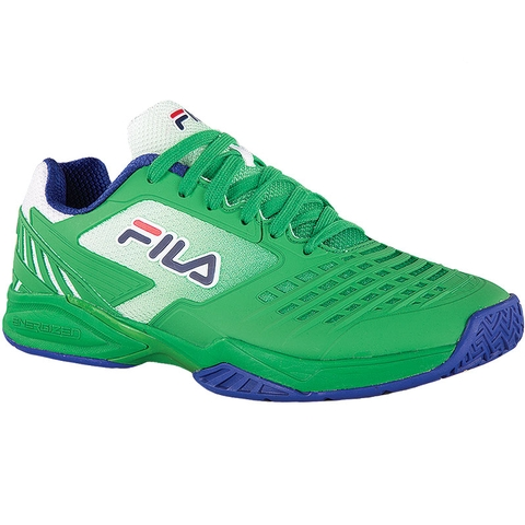 97bbcab8 Fila Axilus 2 Energized Men's Tennis Shoe Green/navy