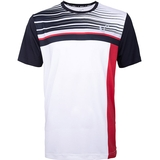 Athletic Dna Finish Line Mesh Back Boy's Tennis Crew