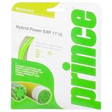 Prince Hybrid Power EXP 17/16  Green / Natural Tennis String Set