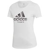 Adidas Logo Women's Tennis Tee
