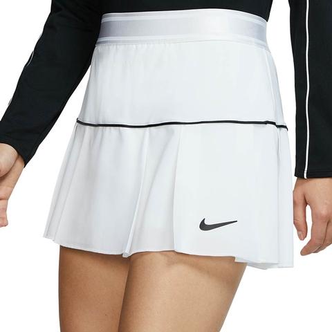 Nike Court Victory Women S Tennis Skirt White Black
