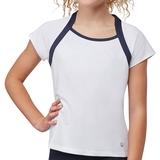 Fila Cap Sleeve Girls ' Tennis Top