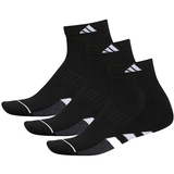 Adidas Cushioned 3- Pack Quarter Men's Tennis Socks