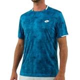 Lotto Top Ten Printed Men's Tennis Tee