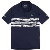 Lacoste Novak Stripe Block Raglan Men's Tennis Polo