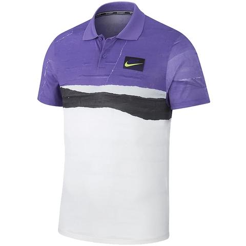nike polo purple