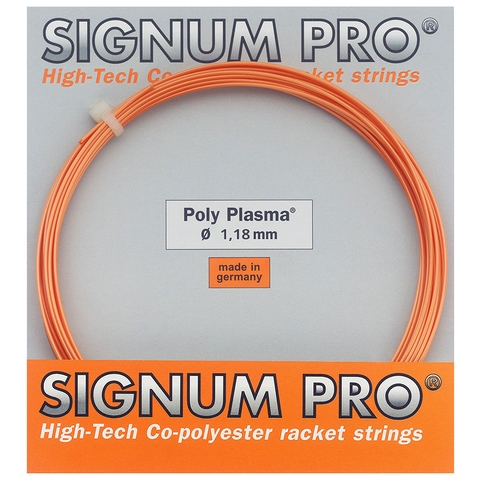Signum Pro Poly Plasma 1.18 Tennis String Set