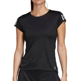 Adidas Club 3 Stripes Women's Tennis Tee
