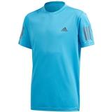 Adidas Club 3 Stripes Boys ' Tennis Tee