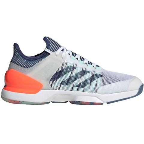 cilindro Pickering avaro  Adidas Adizero Ubersonic 2 Men's Tennis Shoe White/indigo