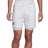 Adidas 2n1 Heat Ready 9 Men's Tennis Short
