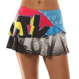 Lucky In Love Future Retro Women's Tennis Skirt